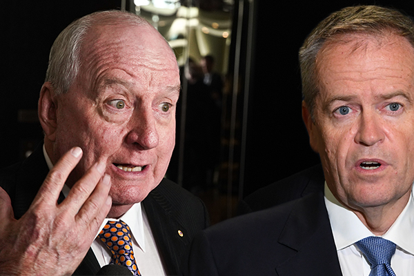 'Cancer scam': Alan Jones slams Bill Shorten's 'ludicrous' cancer policy