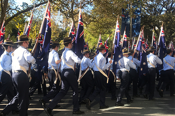 anzac march 2