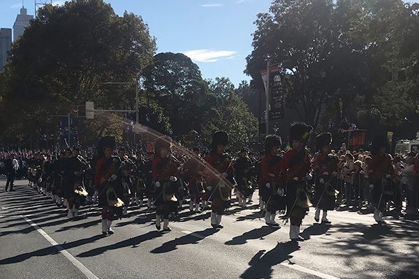 anzac march 3