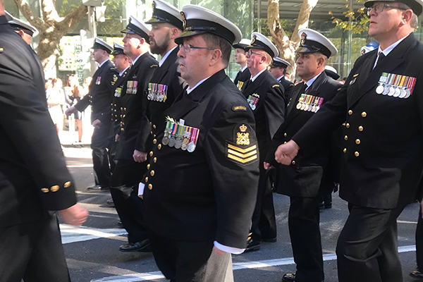 anzac march 4
