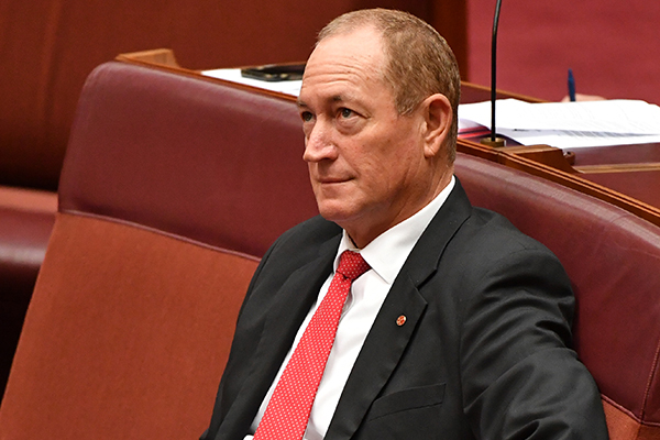 Senate officially censures Fraser Anning over Christchurch comments