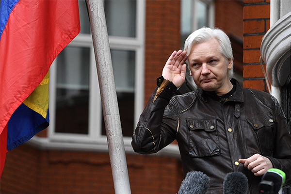 Article image for Julian Assange arrested by British police