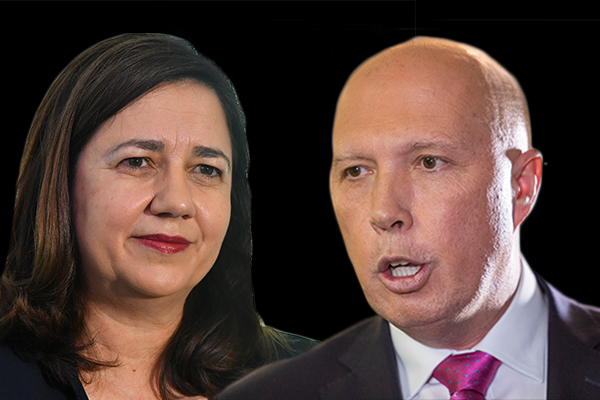 'She's got all the sincerity of Bill Shorten': Peter Dutton's question for Annastacia Palaszczuk