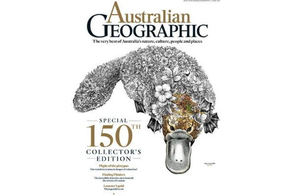 Australian Geographic survives in a harsh environment