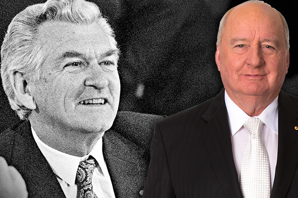 Article image for 'A giant oak tree has crashed in the forest': Alan Jones remembers Bob Hawke