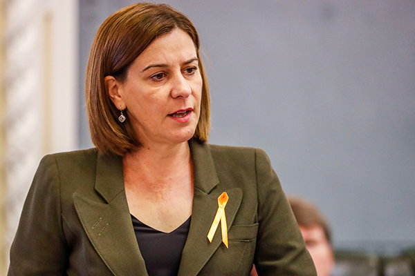 QLD Opposition Leader slams new mining ultimatum as 'extortion'