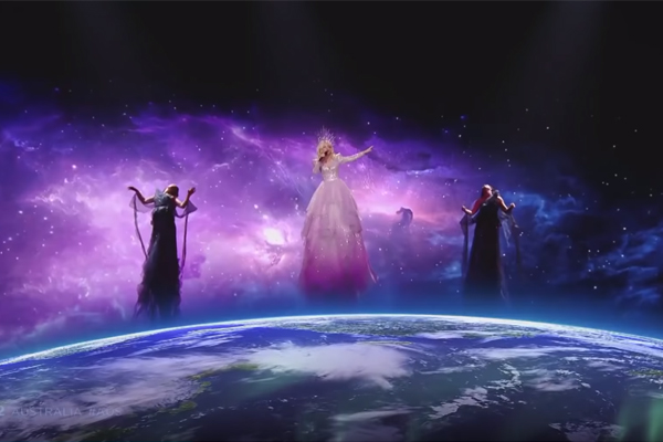 Article image for Australia into Eurovision grand final with out-of-this-world performance