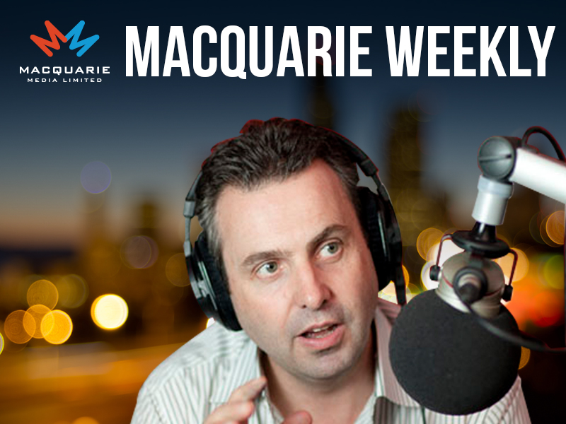 Macquarie Weekly with Justin Smith, 17 November