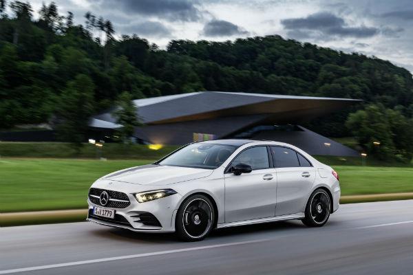 Mercedes-Benz wind-cheating A-Class sedan arrives