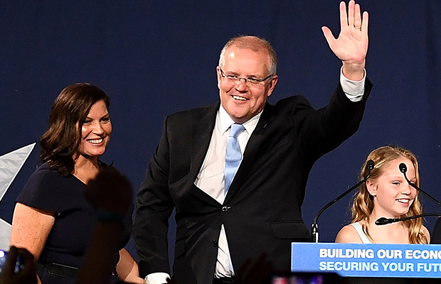 Article image for Morrison's miracle: Coalition claims victory in shock result