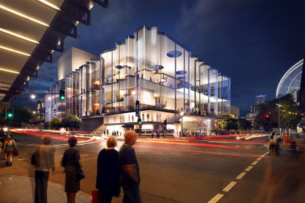 New $150 million theatre for QPAC