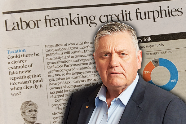 Ray Hadley urges everybody to read this article explaining franking credits