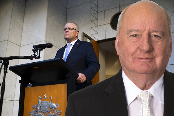 Article image for 'I find it very disappointing': Alan Jones' take on the PM's ministry
