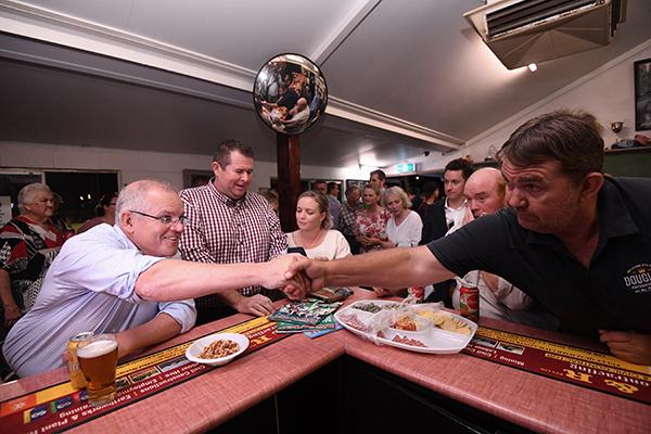 PM goes bush: Scott Morrison visits drought and flood-ravaged farmers