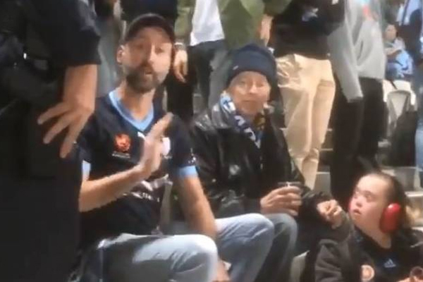 Police reveal the real story behind Sydney FC fan evicted from Kogarah
