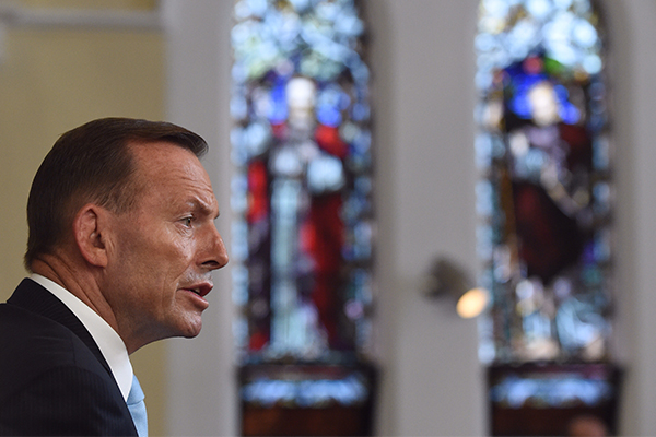 Article image for Should Tony Abbott be sent to the Vatican?