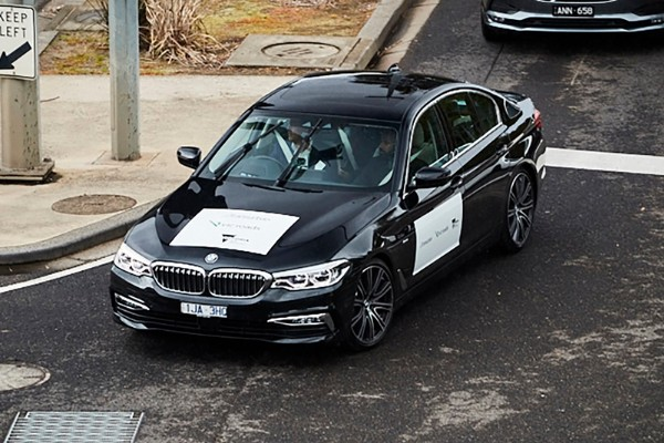 Special issues for autonomous cars on Brisbane roads