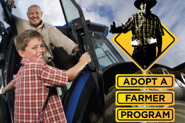 DONATE   Adopt a drought-affected farmer