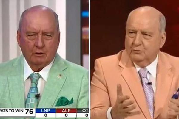 Smashed avo or pistachio?: Alan Jones explains his bold fashion choices