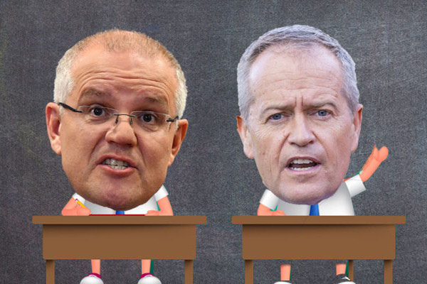 Article image for Election 2019: The Morrison/Shorten report card — Week 4