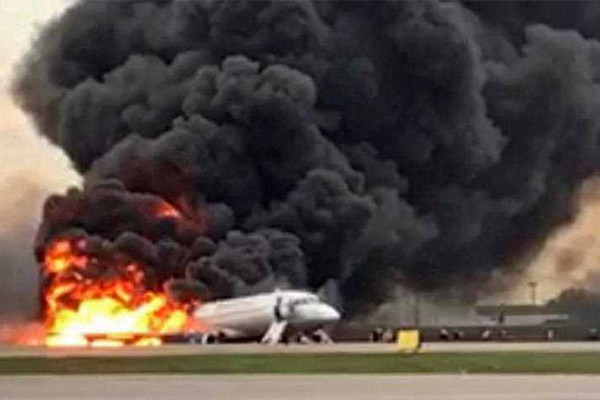 Article image for Dozens dead in Russian plane disaster