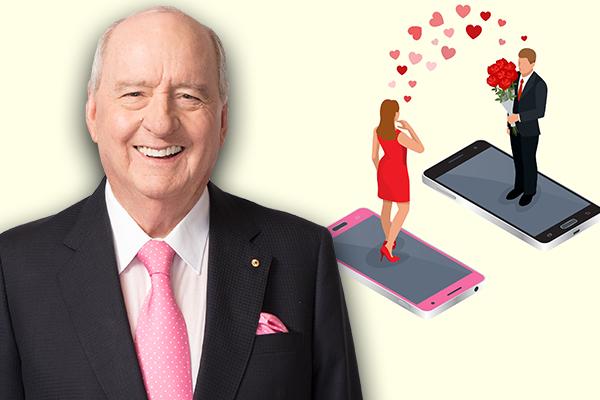 'Text me': Alan Jones gets some hilarious dating advice