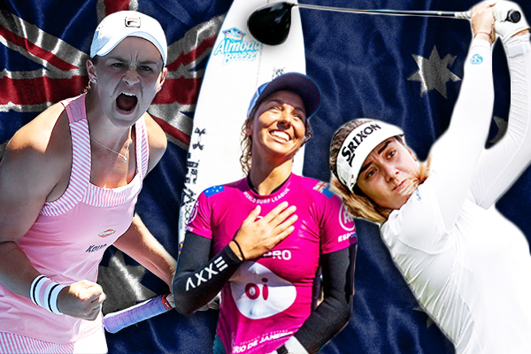 Green and Golden girls: Aussie women on top of the world