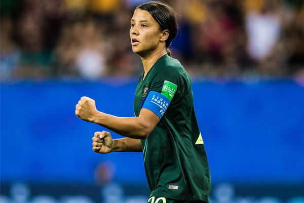 Article image for Matildas Masterclass | Sam Kerr guides Australia into World Cup knockout stage