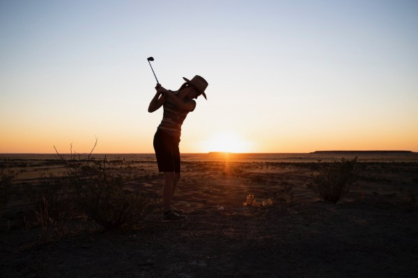 Inaugural Queensland Outback Masters tees-off