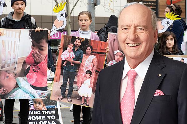 Article image for Alan Jones slams 'shameful' attempts to deport asylum seeker family