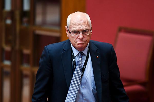 Jim Molan concedes defeat in the Senate