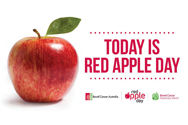 Aussies encouraged to take the test this Red Apple Day