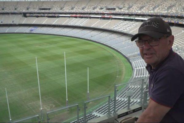 Steve Price has a crack at his dream job in Perth