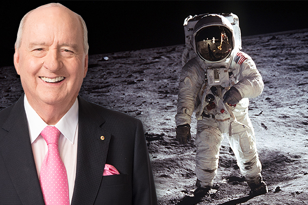Article image for Alan Jones tells the story of his private dinner with Neil Armstrong