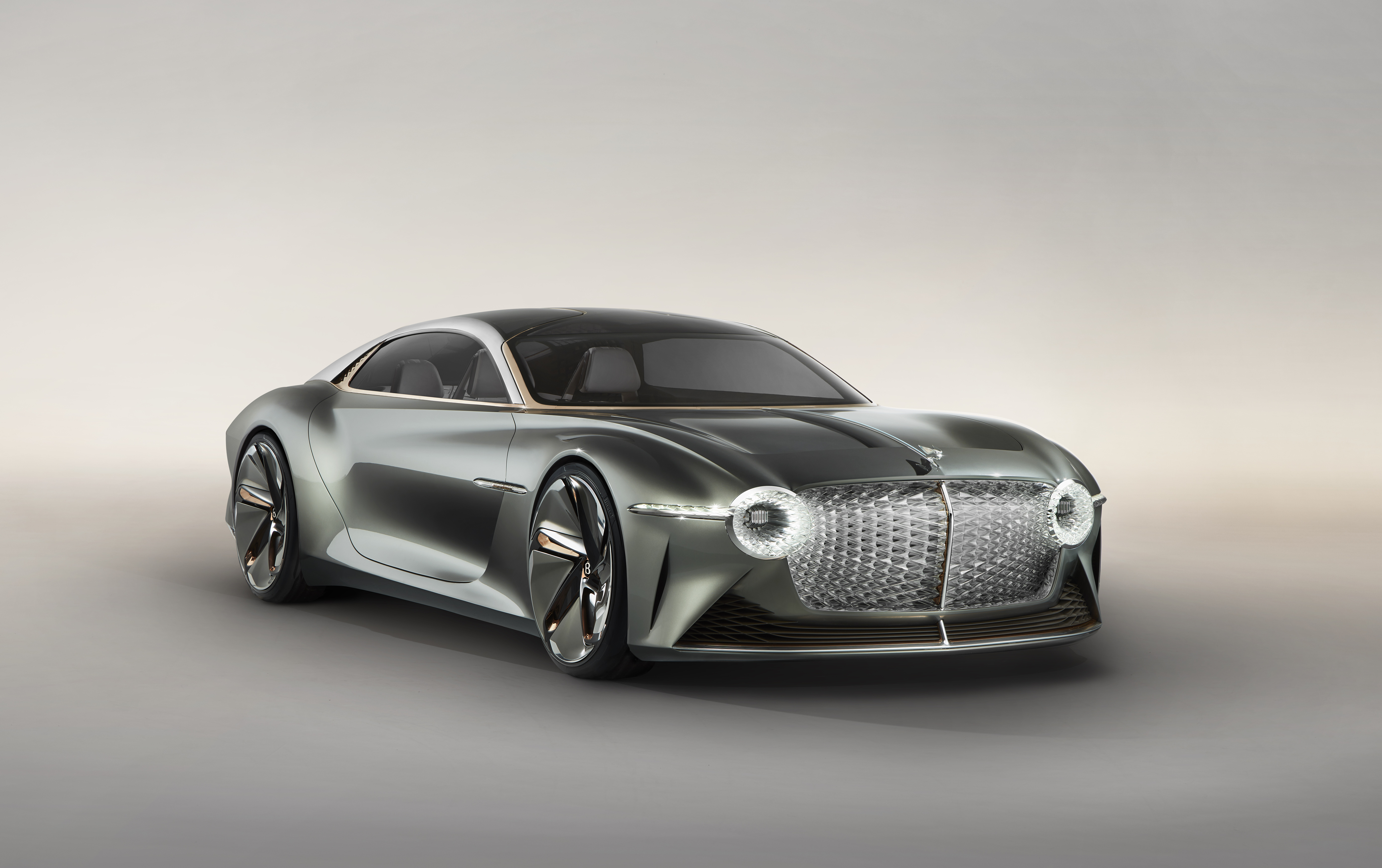 Bentley unveils the future of grand touring – the zero emission EXP100 GT