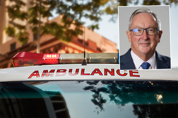 Article image for 'Don't go in': Brad Hazzard's solution to paramedics' security concerns