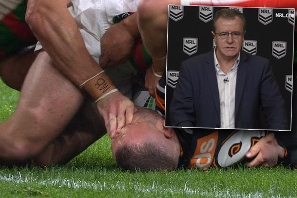 Article image for NRL executive admits he gave referees a 'verbal blast' after 'sloppy' round