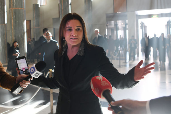 Article image for Jacqui Lambie holds out on tax cut decision