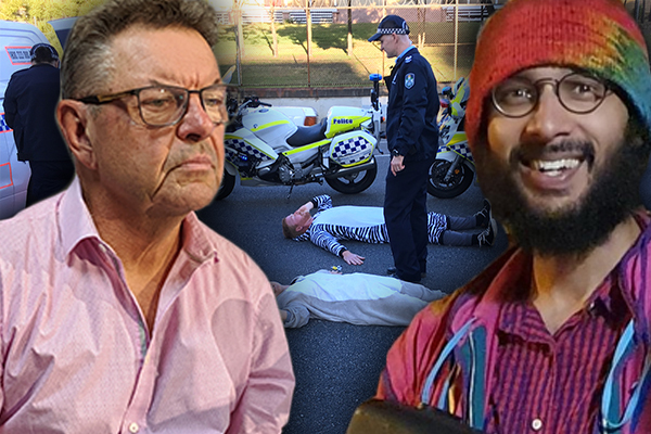 Article image for Steve Price confronts Greens Councillor lending his office to illegal protesters