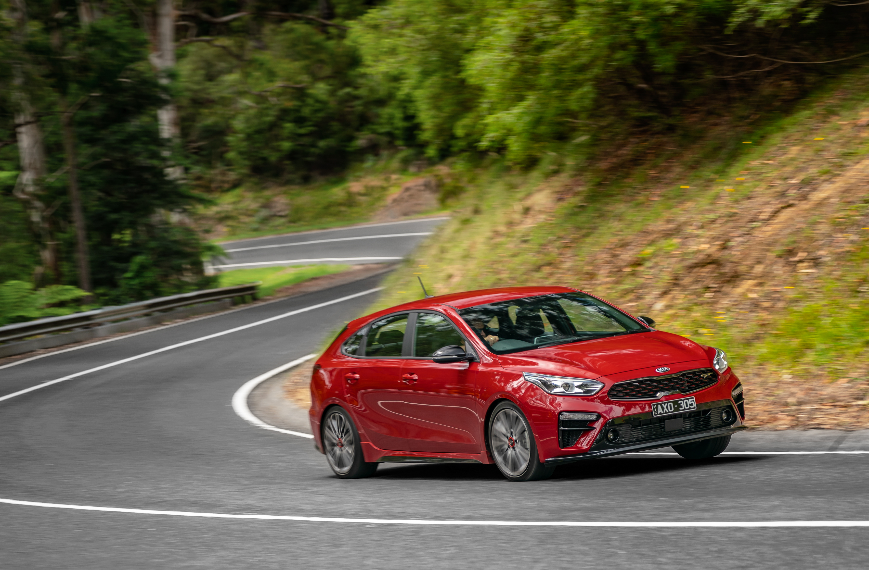 Kia Cerato GT hatch – subtle performance uplift for a strong selling five-door hatch.
