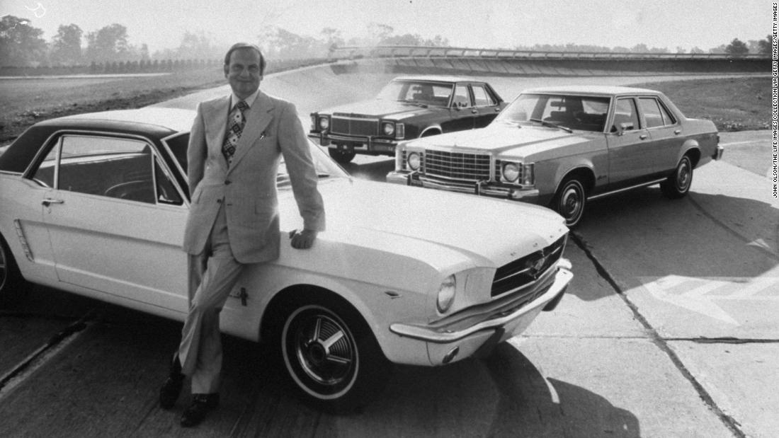 Lee Iacocca, car industry luminary who launched the Ford Mustang dead at 94