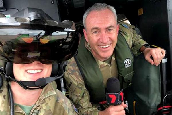 Article image for TV sports reporter Captain Mark Beretta's new job title