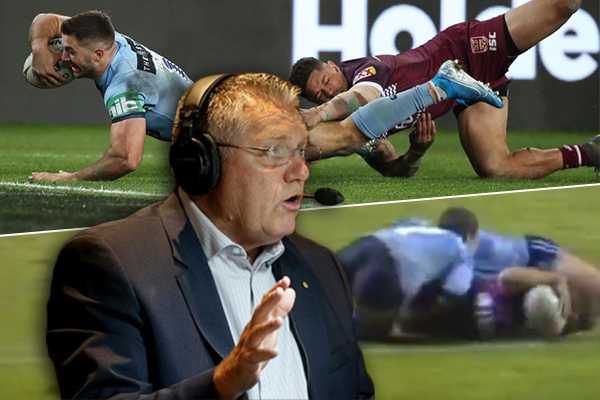 The moment Ray Hadley predicted James Tedesco's miracle try