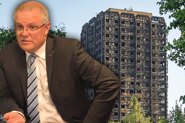 Article image for 'I'll hold them accountable': PM's warning to the states over cladding crisis