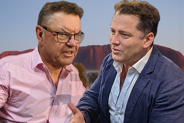 Karl Stefanovic calls out Steve Price for 'racist' Uluru comments