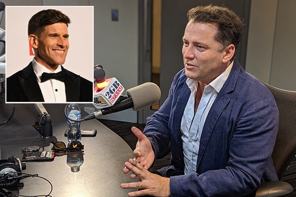 Article image for Osher Günsberg publicly reveals latest mental health battle to close friend Karl Stefanovic
