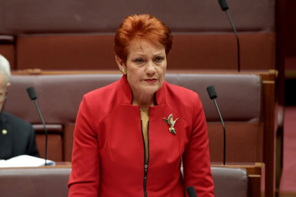 Article image for 'You're on a bloody good wage!': Pauline Hanson slams Barnaby Joyce