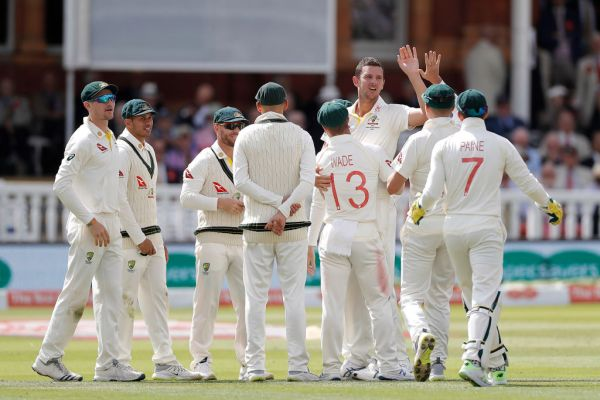 Aussie bowlers lift, David Warner falls on pulsating day two at Lord's