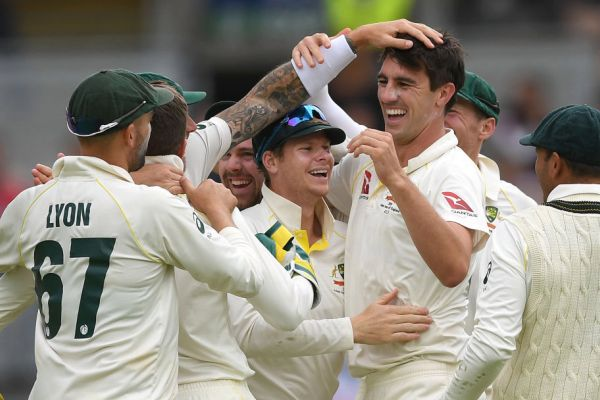 Aussies draw first blood in the Ashes, breaking 18-year hoodoo