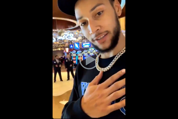 Article image for WATCH | Ben Simmons denied entry from Australian casino